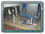 Compressed air galv. pipes