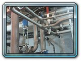 Stainless Steel  316L pipes in AC room_viii
